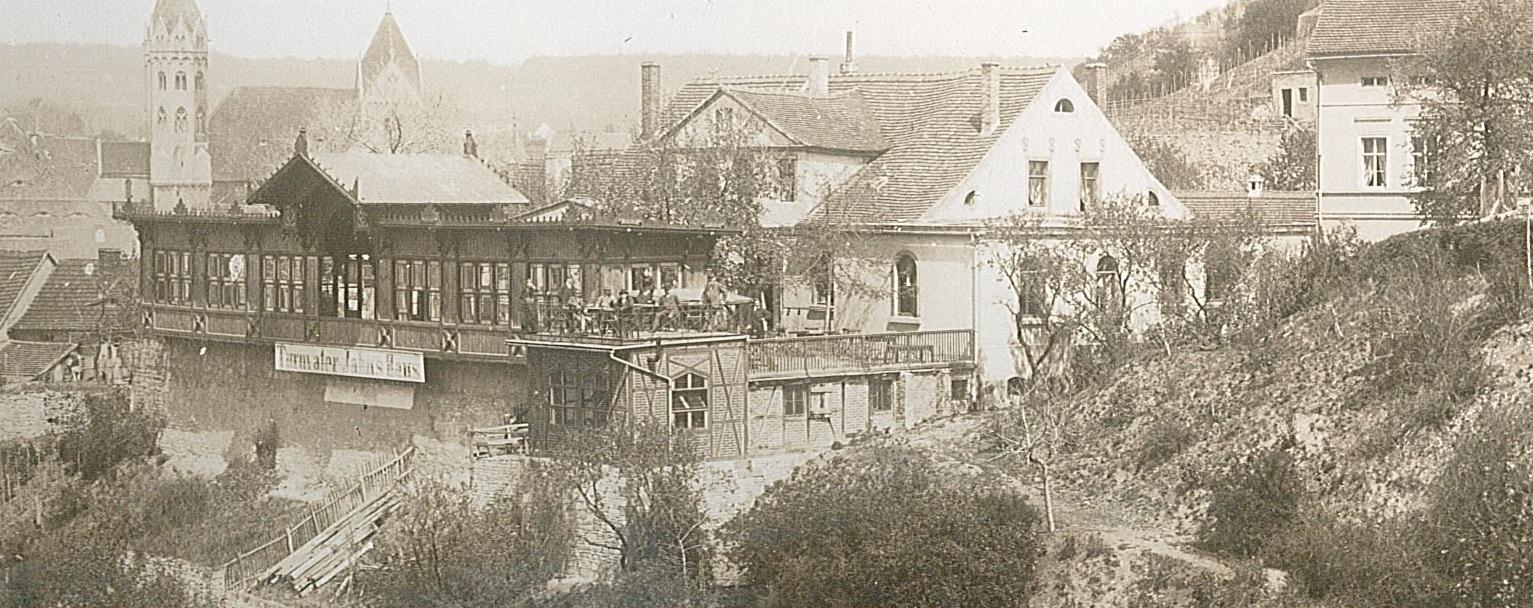 Jahncafe um 1920