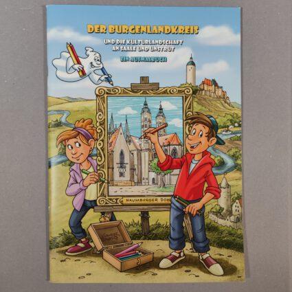 Ausmalbuch: Der Burgenlandkreis und die Kulturlandschaft an Saale und Unstrut