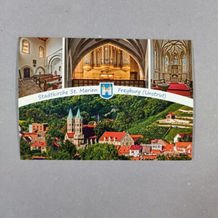 """Anichtskarte """"Stadtkirche St. Marien"""" Freyburg (Unstrut)"""