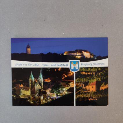 """Anichtskarte """"Stadtansicht von Freyburg an der Unstrut"""""""